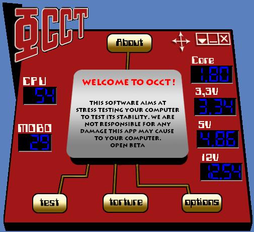 OCCT 4.4.2 - самый экстремальный тест системы