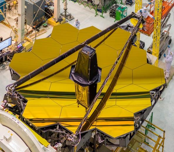 Мощный орбитальный телеском с 6,5-метровым зеркалом