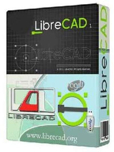 LibreCAD 2.1.0.11 Beta - бесплатный CAD пакет