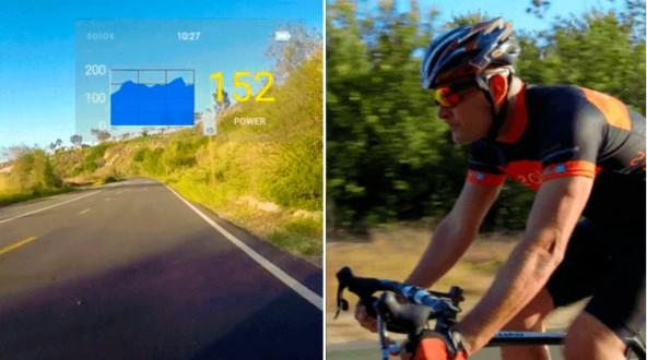 """""""Умные"""" очки для велосипедистов"""