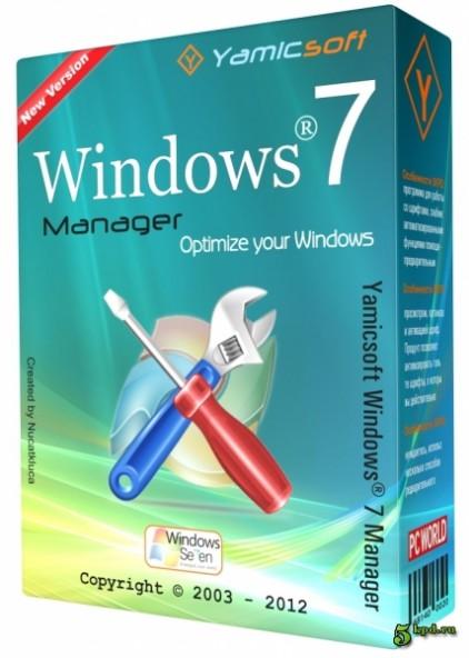 Windows 7 Manager 5.1.9 - аккуратная настройка Windows 7