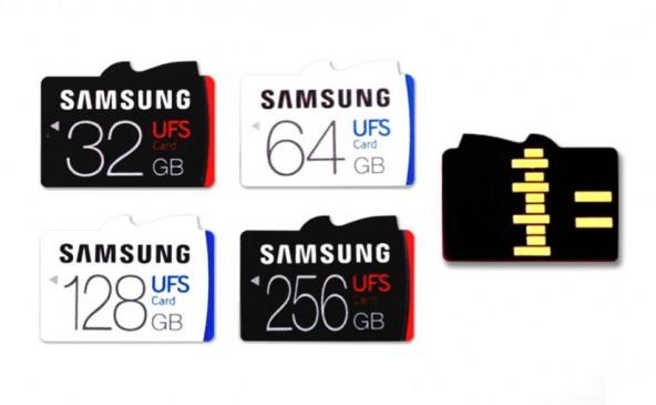 Samsung планирует совместить UFS и microSD