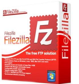 FileZilla 3.20.1 - лучший бесплатный FTP клиент