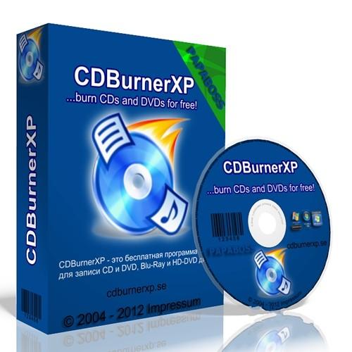 CDBurnerXP 4.5.7.6292 Beta - удобная запись дисков бесплатно