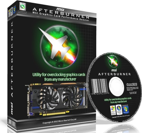MSI Afterburner 4.3.0 - разгон видеокарты это просто