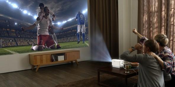 LG ProBeam - лазерный проектор для домашнего кинотеатра