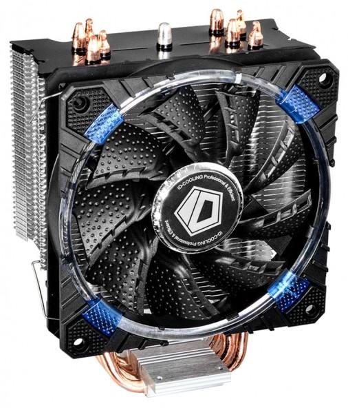 В трёх версиях вышел ID-Cooling SE-214C универсальный процессорный кулер.