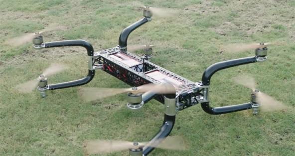 Дрон Griff 300 может нести более 200 кг груза полезного груза