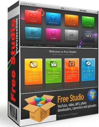 FFree Studio 6.6.30.1215 - редактор мультимедиа все в одном