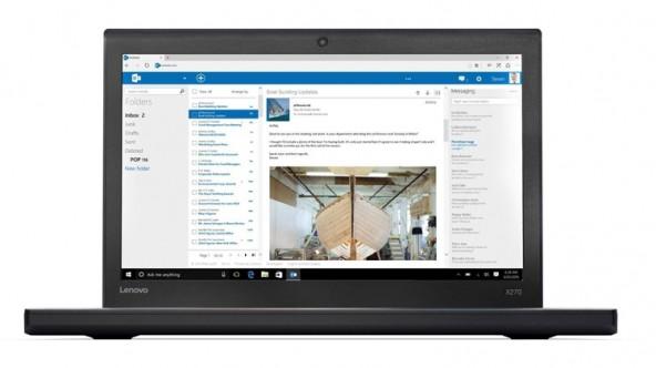 Долгоиграющий ноутбук Lenovo ThinkPad X270 работает 20 часов от одной зарядки.