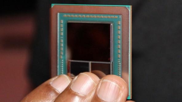Графический процессор Vega 10 запечатлён на фото