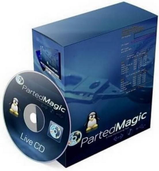 Parted Magic 2017.01.08 - утилита для работы с HDD