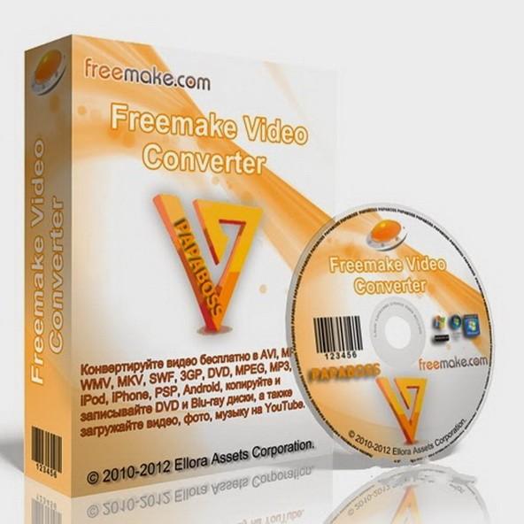 Freemake Video Converter 4.1.9.72 - бесплатный конвертер