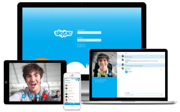 Microsoft заблокирует старые версии Skype.