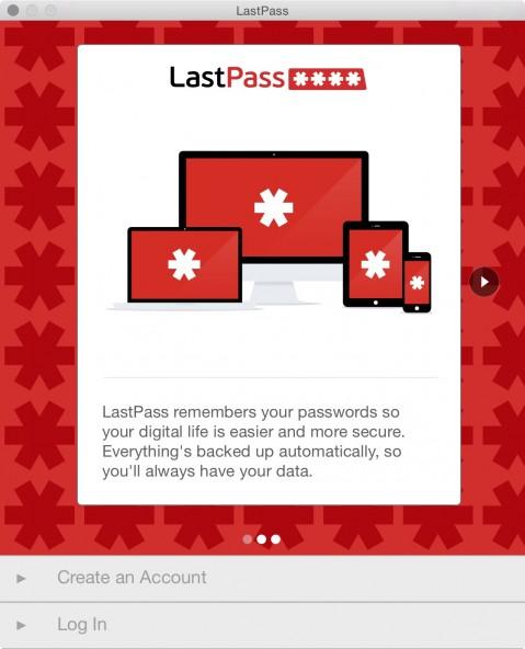 LastPass 4.1.40 - менеджер паролей