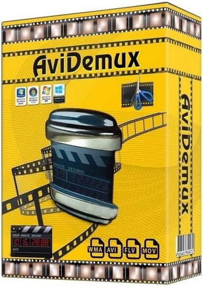 Avidemux 2.6.18.170220 Dev - обработка видео