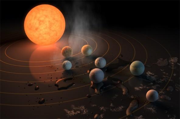 Ученые NASA нашли три потенциально обитаемые планеты.