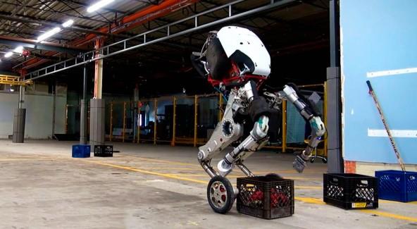Суперсовременный робот, который круче всех преодоевает препятствия