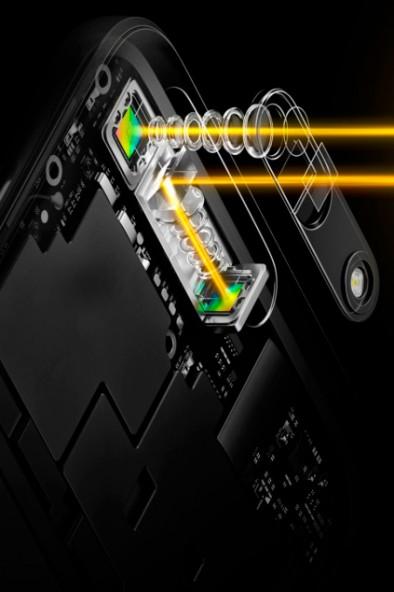 Смартфон с 5 кратным оптическим зумом