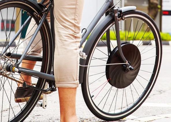 Простой велосипед в электрический