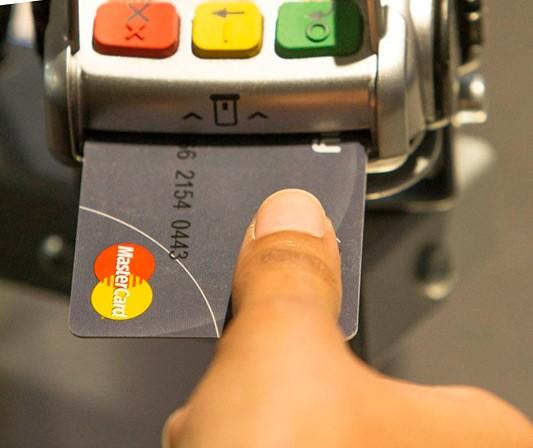 Новая биометрическая банковская карта