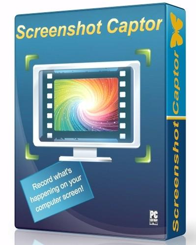 Screenshot Captor 4.21.1 - снимает скриншоты