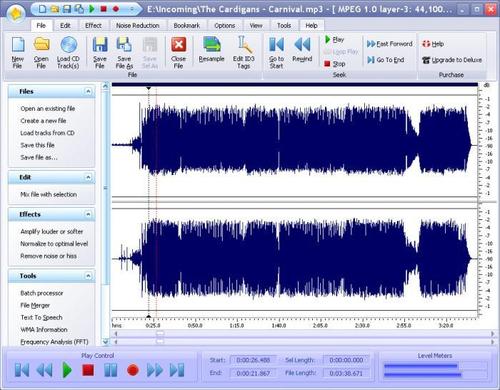 Power Sound Editor Free 8.8.0 - бесплатный редактор звука