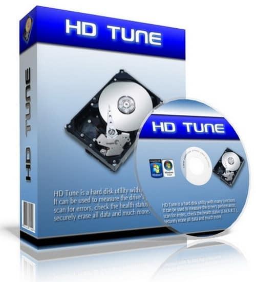HD Tune 5.70 Pro - диагностика HDD