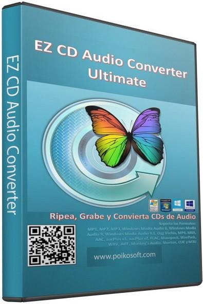 EZ CD Audio Converter 6.2.3.1 - приятный аудио конвертер