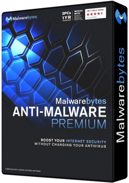 Malwarebytes Anti-Malware 3.2.2.2029 - удаляет вредителей