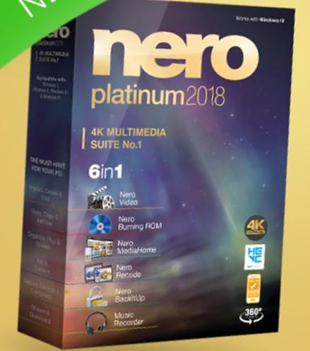 Nero 19.0.06500 - лучшая программа для работы с медиаданными