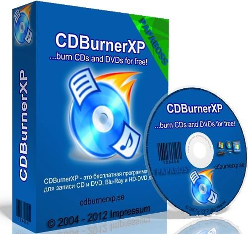 CDBurnerXP 4.5.7.6747 Beta - удобная запись дисков бесплатно