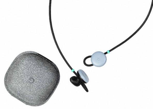 Bluetooth наушники Google Pixel Buds