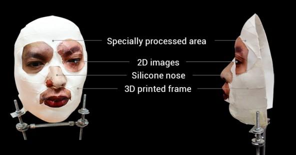 Обман Face ID с помощью маски