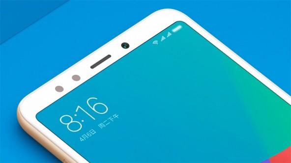 Бюджетный смартфон Xiaomi с дисплеем 18:9