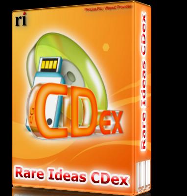CDex 1.95 - лучшая грабилка CD дисков  для Windows