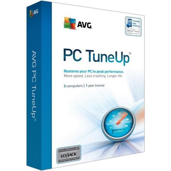 AVG PC TuneUp 16.76.3.18604 - настрой систему на быстродействие
