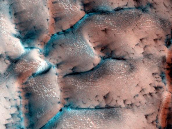 Марс зимой