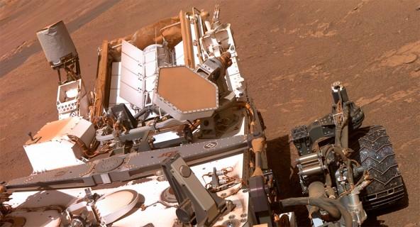 Новое фото марсохода Curiosity