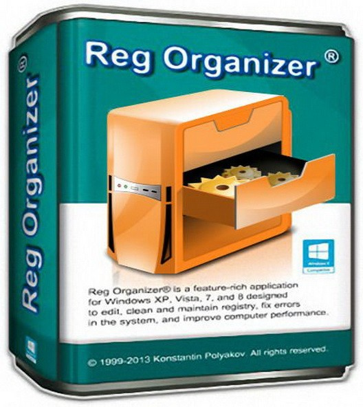 Reg Organizer 8.10 Beta 1 - удобная работа с реестром