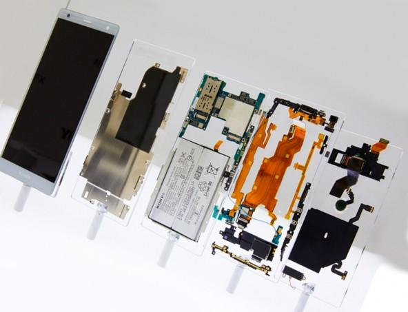 Новые смартфоны Sony Xperia XZ2 Compact и Xperia XZ2
