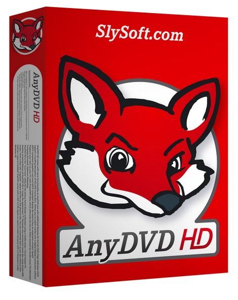 AnyDVD 8.2.2.4 Beta - безопасное снятие региональной защиты
