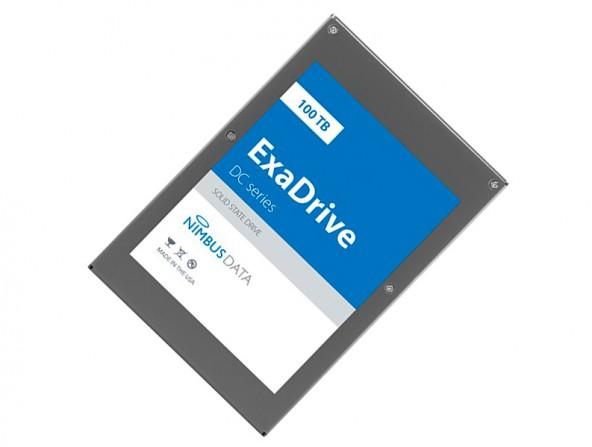Nimbus Data - рекордный SSD накопитель на 100Tб