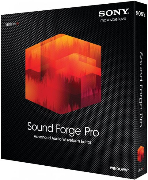 Sound Forge Pro 12.0.29 - обработка звука