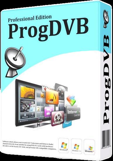 ProgDVB 7.23.6 - лучший пакет для просмотра потокового вещания
