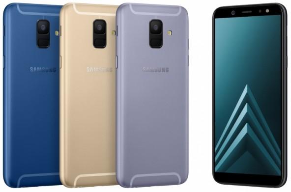 Представлены смартфоны Samsung Galaxy A6 и A6+