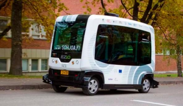 В Хельсинки беспилотные автобусы