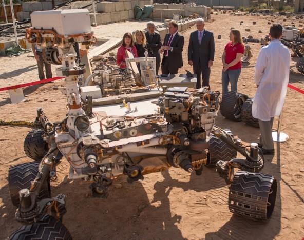 В NASA представили новый марсоход