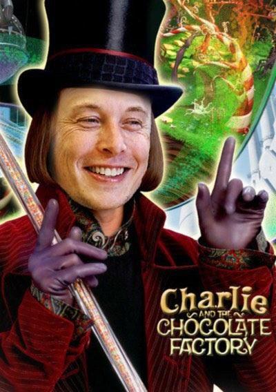 Илон Маск может стать шоколадным магнатом