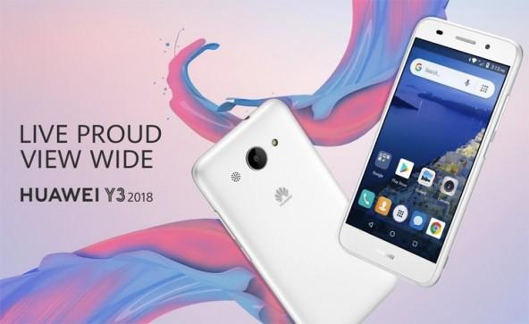 Бюджетник Huawei Y3 (2018) Android Go